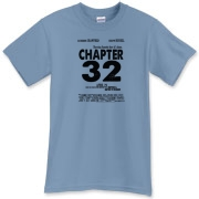 Chapter 32 Movie Poster T-Shirt