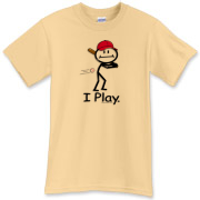 This BusyBodies baseball playing stick figure makes a great gift for the baseball player!