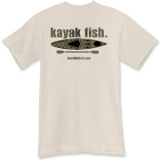 As simple as it gets, just the like the fishing from a kayak. The hottest fishing in America is from a kayak. Fly your colors.