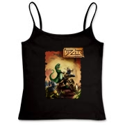Dino-Puncher Fitted Camisole Tank