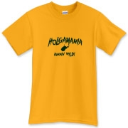 As we saw in the 2012 Orange Bowl vs Clemson, Holgamania was unleashed on the field! Be a part of the ride for the rest of the season with this Holgamania Runnin' Wild t-shirt! Whatcha gunna do, Big 12, when Holgamania RUNS WILD ON YOU!?