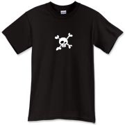 Cool Skull and Crossbones T-Shirt