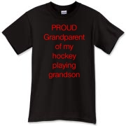 Proud of hockey grandson T-Shirt