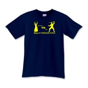 belly dancer vs. ninja Kids T-Shirt