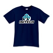From the hit comedy film Office Space this is the logo of Initech the company that was the bane of the main character's existence that eventually got burned to the ground.