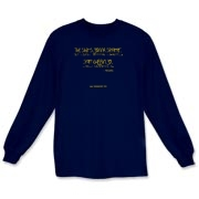 The Shit's Gonna Splatter Long Sleeve T-Shirt