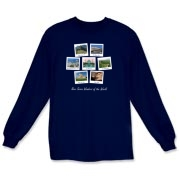 New Seven Wonders of the World, as voted on by the public, now available on t-shirts and sweatshrits for adults and children.  Fun poloroid style pictures of all seven of the new wonders of the world.