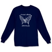 Rock Butterfly Long Sleeve T-Shirt