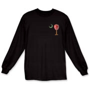 Especially for teachers, the School Apple Palmetto Moon Long Sleeve T-Shirt features a smaller version of the South Carolina palmetto with an apple and chalkboard moon.