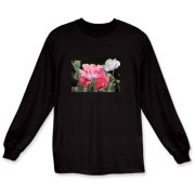 Gorgeous poppies and pods make a lovely scene for your t-shirt. They truly will bring harmony to your day when you wear these flowers!