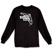 There's one thing that Florida and this design have in common: they ROCK! Features stylish dripping paint Florida state outline. Finally, you can get the confidence to rock out in style by wearing the FLORIDA ROCKS t-shirt!