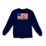 Don't Tread on me- Revolutionary Kids Long Sleeve
