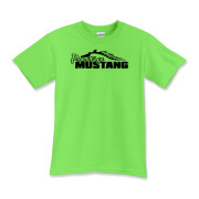 Classic Kids T-Shirt features our popular Prestige Mustang Bold Logo design on the front