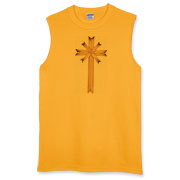 Matches Cross Sleeveless T-Shirt