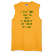Cheaters Sleeveless T-Shirt