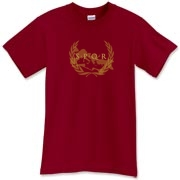 The Roman Empire may be gone, but this SPQR map t-shirt will ensure their history lives on forever (as long as it's washed inside-out).   Murchada Outfitters longs for the days of old!