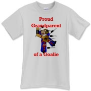 Goalie Grandparent T-Shirt