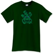 The Celtic legend of the green man lives on - on this green man t-shirt!