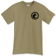 Black B.C. Circle Logo T-Shirt