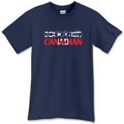 A Scottish Canadian t-shirt for all those lucky enough to have the blood of the Scots! The Scotland flag and Canadian flag shine boldly on this great tee shirt! Murchada Outfitters salutes Canada and Scotland!