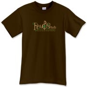 Roots & Sprouts Dark Men's T-Shirt