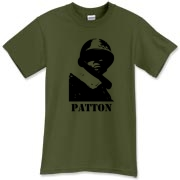 A Patton shirt showing the rough mug of this real American hero!  Patton led from the front and so can you (hopefully) with his unforgiving tee.  Murchada Outfitters encourages you to learn Patton's wisdom and to buy this shirt!  Warrior t-shirt.