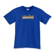 AC Flames Logo Kids T-Shirt