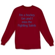 Fighting Saints Long Sleeve T-Shirt