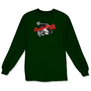 AC Red Logo Long Sleeve T-Shirt