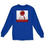 100% Cotton RobeProbe Long Sleeve T-Shirt