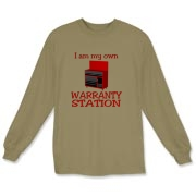 Warranty Station  Long Sleeve T-Shirt