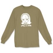 I Play with Dolls Blythe Long Sleeve T-Shirt