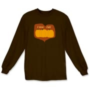 A great long sleeve t-shirt for the fall weather and a little country in design. Available in 21 colors!