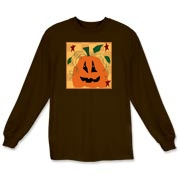 This long sleeved t-shirt is great for fall and the Halloween season!