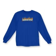KID'S AC Flames Logo Long Sleeve T-Shirt