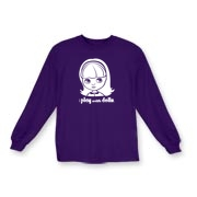 I Play with Dolls Blythe Kids Long Sleeve T-Shirt