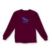 Water Horse - Kids Long Sleeve T-Shirt
