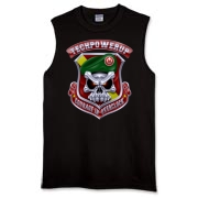 The women love the guns. Don't deprive the women of their want. Get a TPU Sleeveless T-Shirt Now.