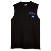 This sleeveless nifty astronomy shirt pocket emblem is perfect for the astronomer who prefers to do his stargazing with a refractor. It says: Astronomer, and has a depiction of a refractor telescope.
