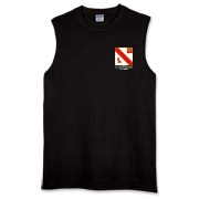 21st Artillery MLRS - Dark Color, Muscle T-Shirts. Front & Back Insignia. Available in 3 Dark Colors.