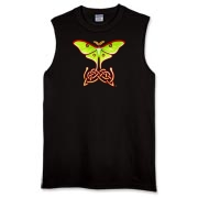 Celtic Lunar Moth Sleeveless T-Shirt