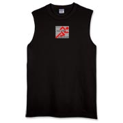 Perfect sleeveless T for a runner!