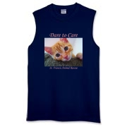 Dare to Care (Dark Items) Sleeveless T-Shirt
