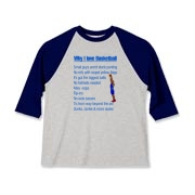 Why I Love Basketball Kids Baseball Jersey