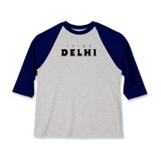 I was asked to make a shirt for the folks of Delhi. A small town in California.