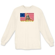 Don't Tread on me- Revolutionary Long Sleeve T-Shi