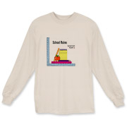 School Rules, long sleeved T shirt