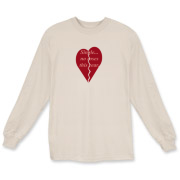 Single and no roses during Valentine's Day is not a tragedy! Enjoy your freedom wearing this long sleeved t-shirt!