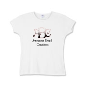 Awesome Breed Creations Girls Baby Rib T-Shirt