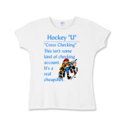 Cross Checking Girls Baby Rib T-Shirt